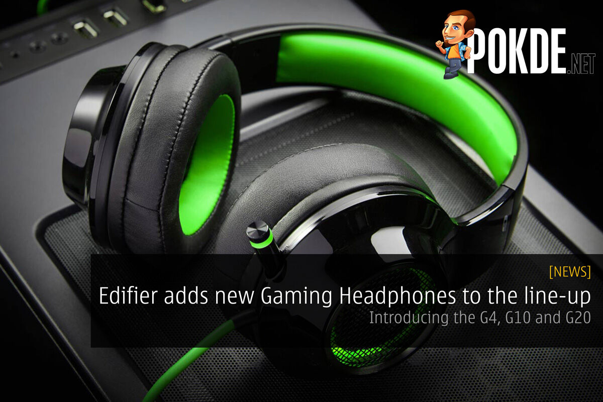 Edifier adds new Gaming Headphones to the line-up - Introducing the G4, G10 and G20 28