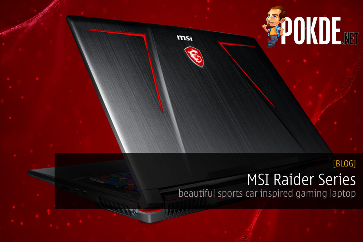 MSI Raider Series are beautiful sports car inspired gaming laptops 26