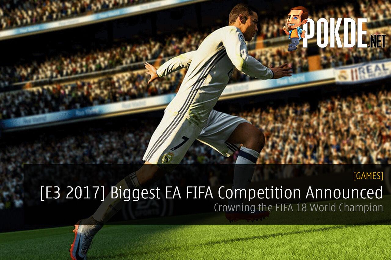 EA Sports FIFA 18 competition