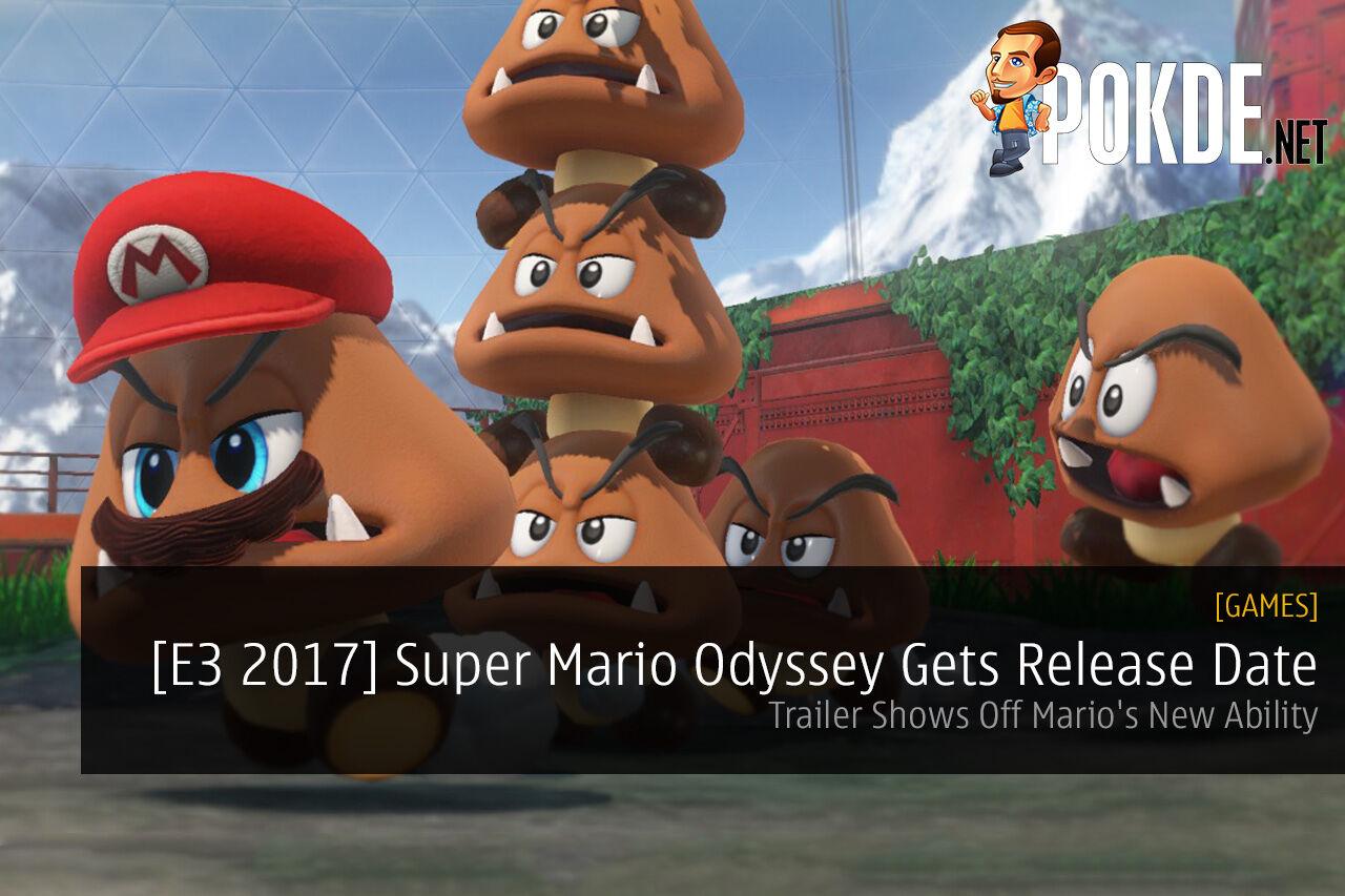 Super Mario Odyssey Treehouse E3 2017