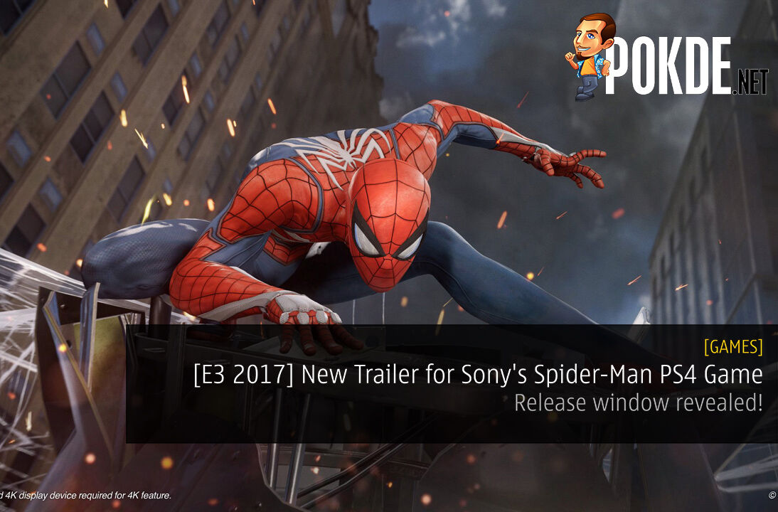 [E3 2017] New Trailer for Sony's Spider-Man PS4 Game - Release window revealed! 22