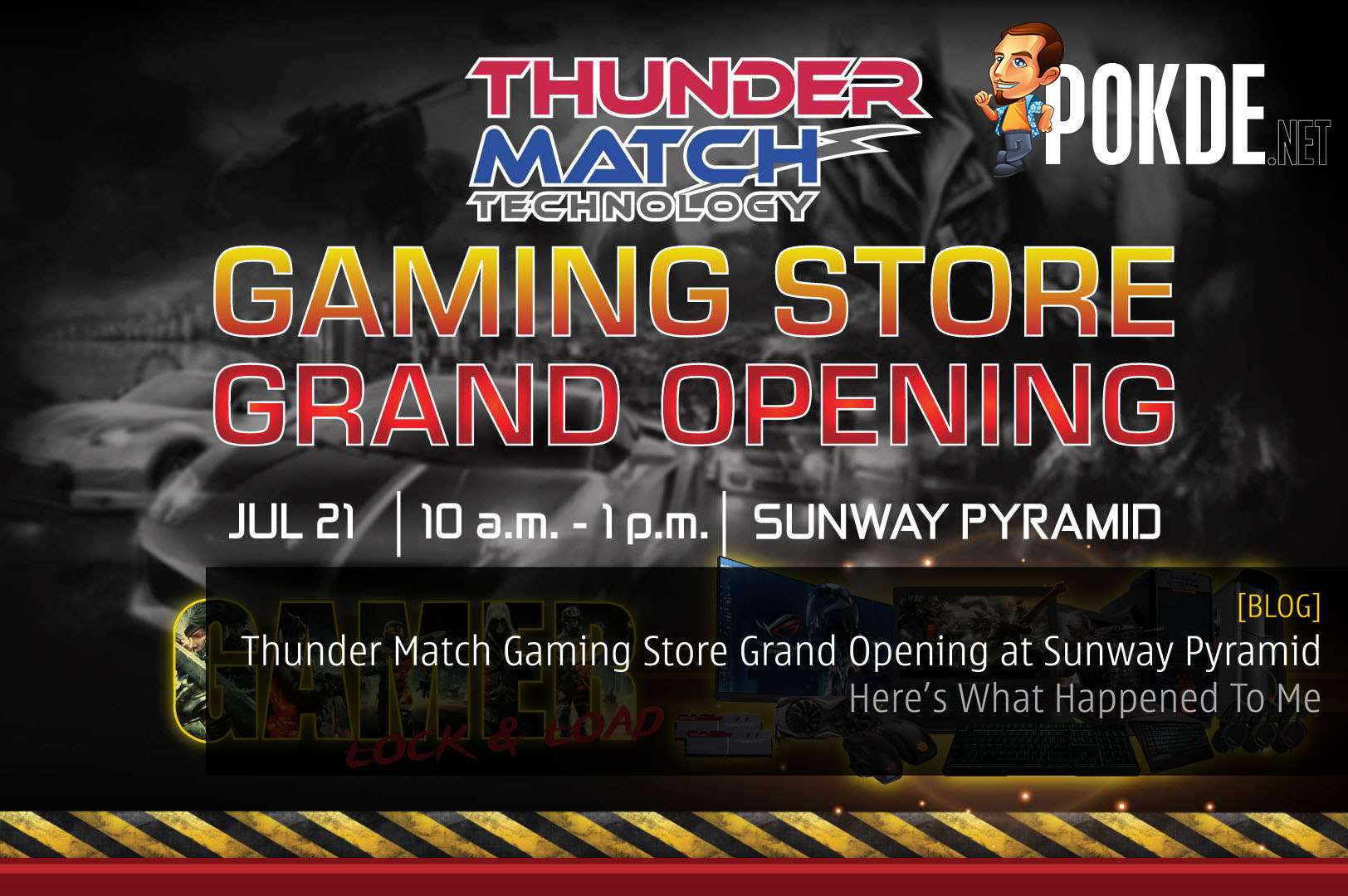 What Happened To Me During The Thunder Match Gaming Store Grand Opening at Sunway Pyramid 52