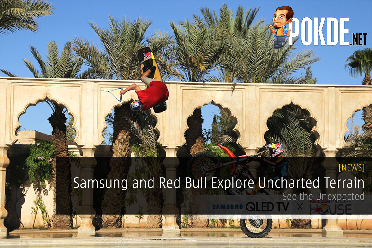 Samsung and Red Bull explore uncharted terrain; See the Unexpected 23