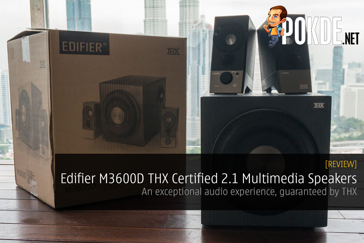 Edifier M3600D THX Certified 2.1 Multimedia Speakers review; An exceptional audio experience, guaranteed by THX 29