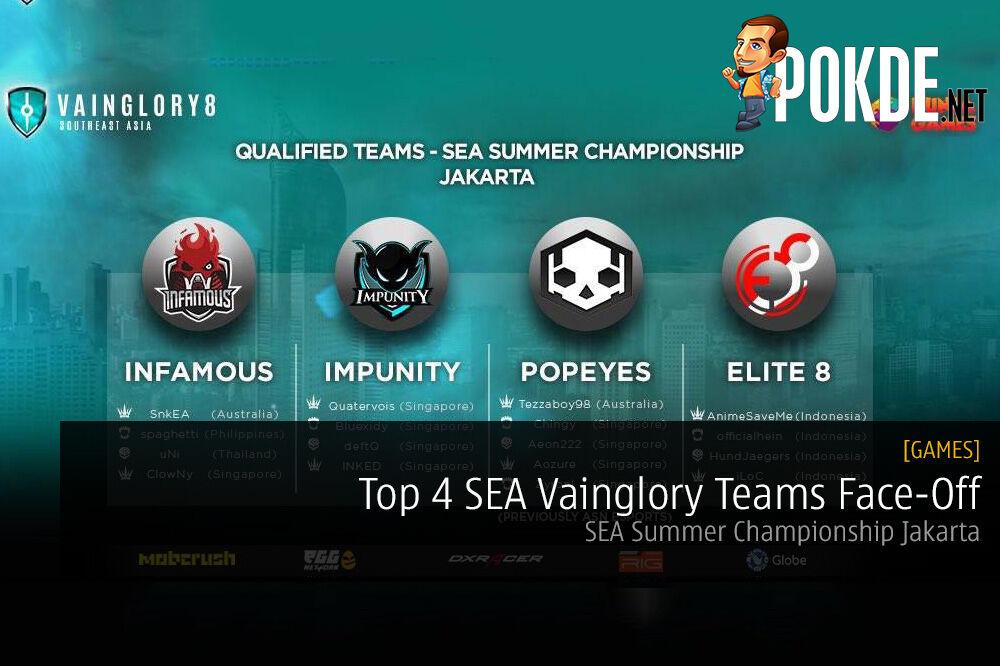 Top 4 SEA Vainglory Teams Face-Off; SEA Summer Championship Jakarta 32