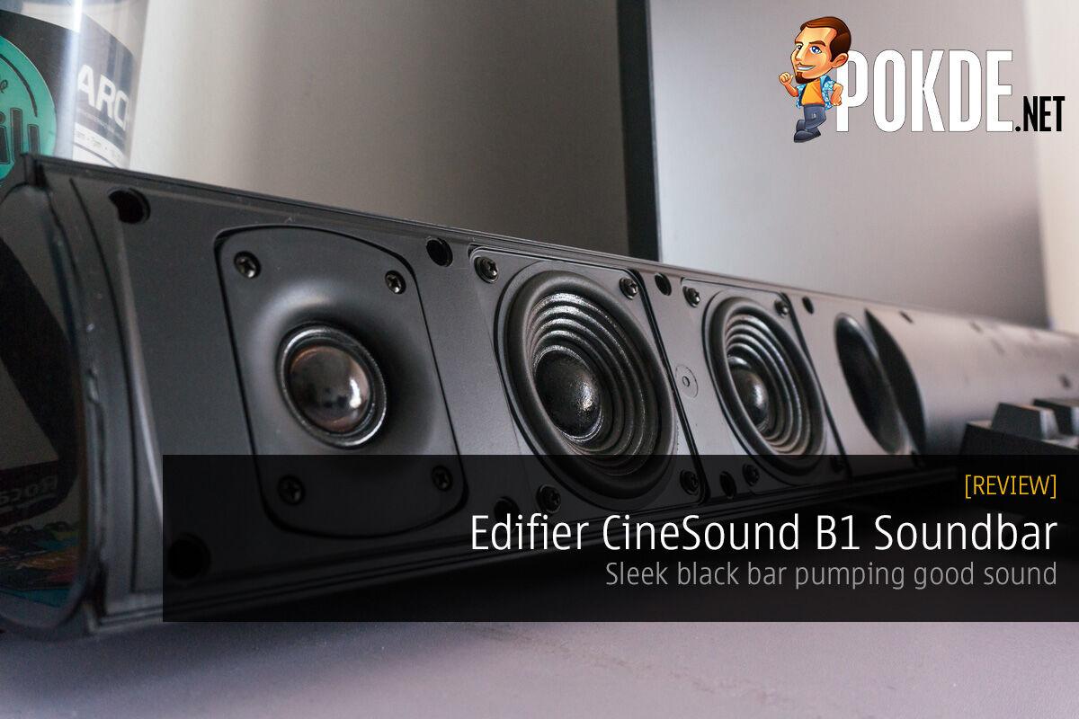 Edifier CineSound B1 Soundbar review 32