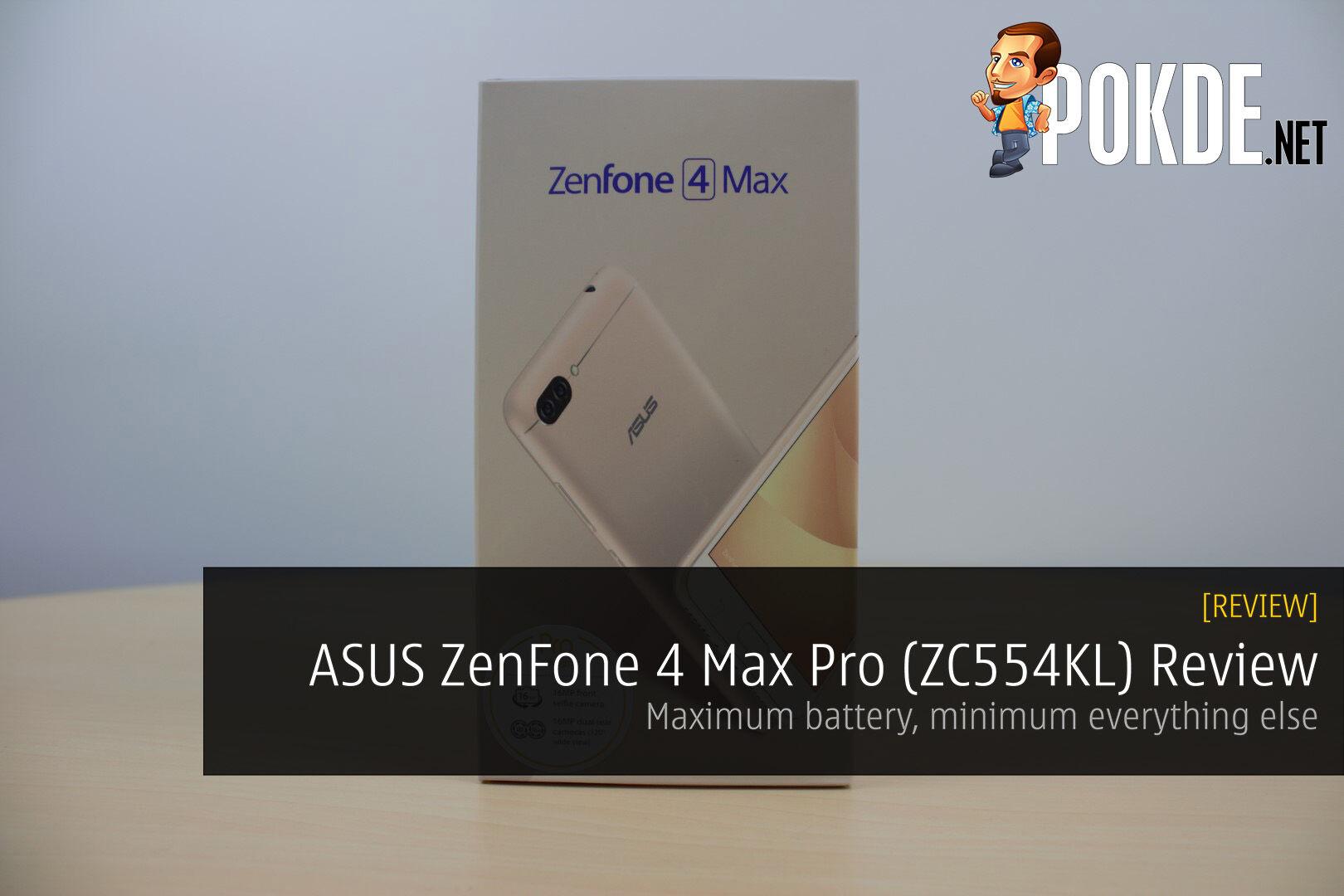 ASUS ZenFone 4 Max Pro (ZC554KL) Review - Maximum battery, minimum everything else 26