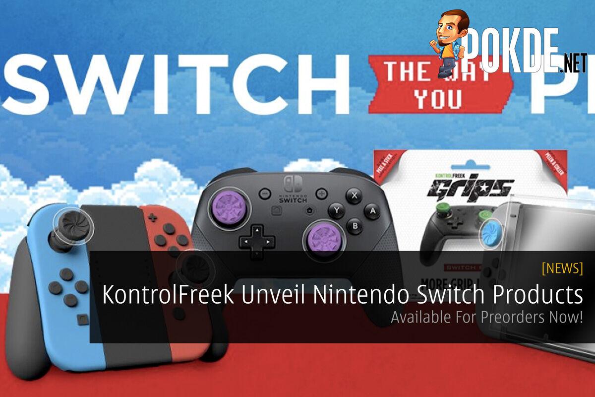 kontrolfreek nintendo switch