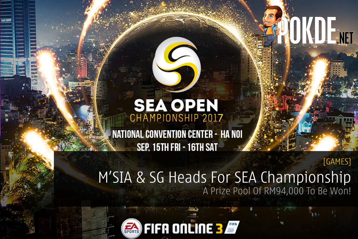 Malaysia And Singapore Head For SEA Open Championship - A Prize Pool Of RM94,000 To Be Won! 24