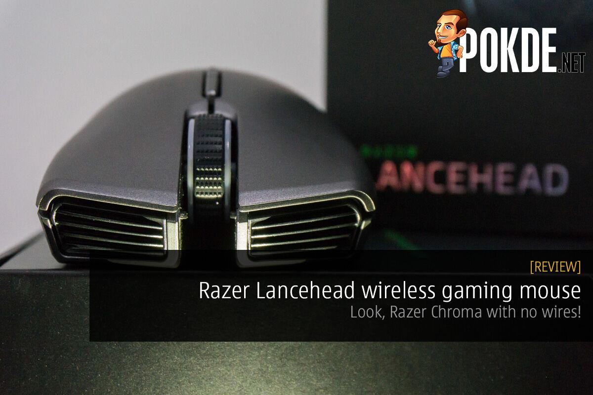 Razer Lancehead wireless gaming mouse review 36