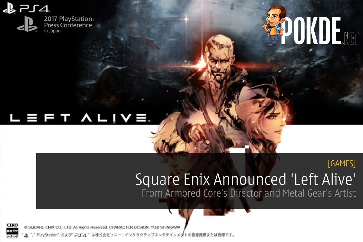 [TGS 2017] Square Enix Announced 'Left Alive'; From Armored Core's Director and Metal Gear's Artist 26