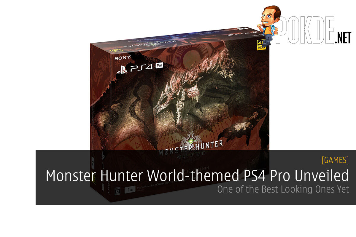 monster hunter world ps4 pro