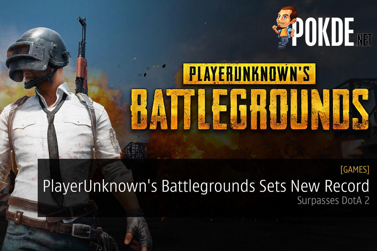 PlayerUnknown's Battlegrounds Steam record concurrent players PUBG