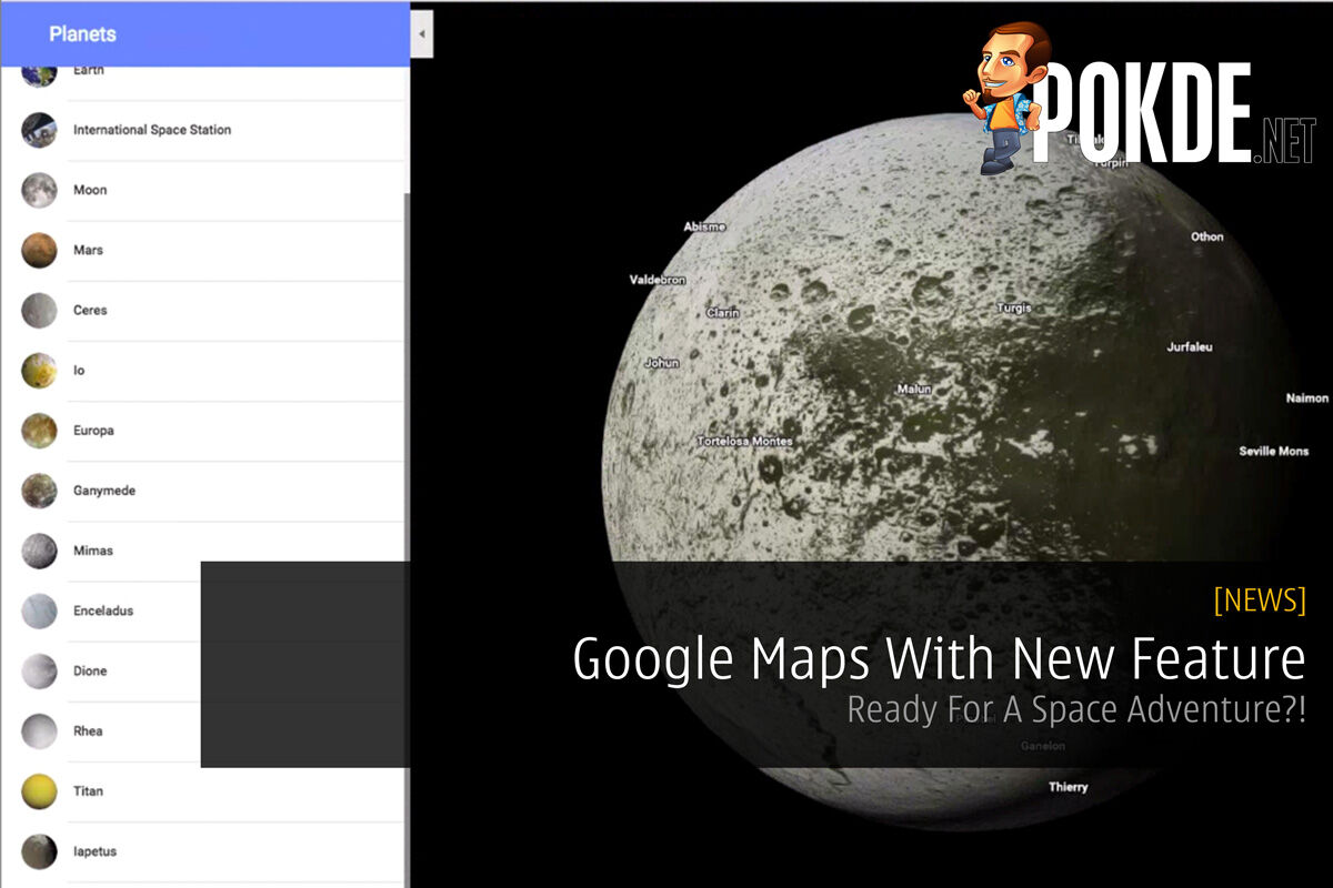 Google Maps With New Feature - Ready For A Space Adventure?! 30