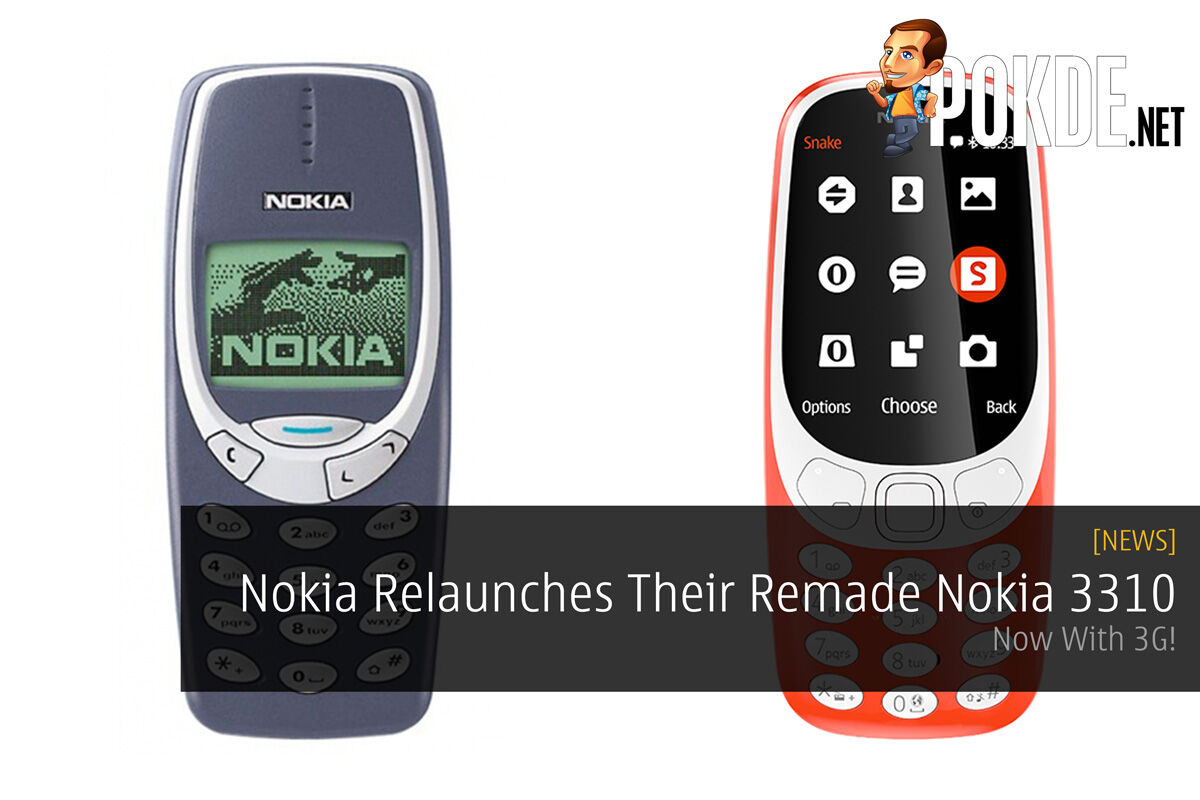 Nokia Relaunches Their Remade Nokia 3310 - Now With 3G! 21