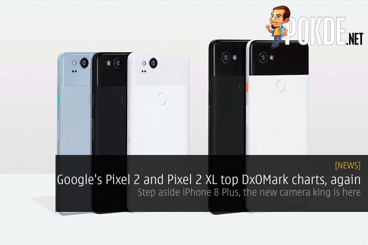 Google's Pixel 2 and Pixel 2 XL top DxOMark charts, again; step aside iPhone 8 Plus 23
