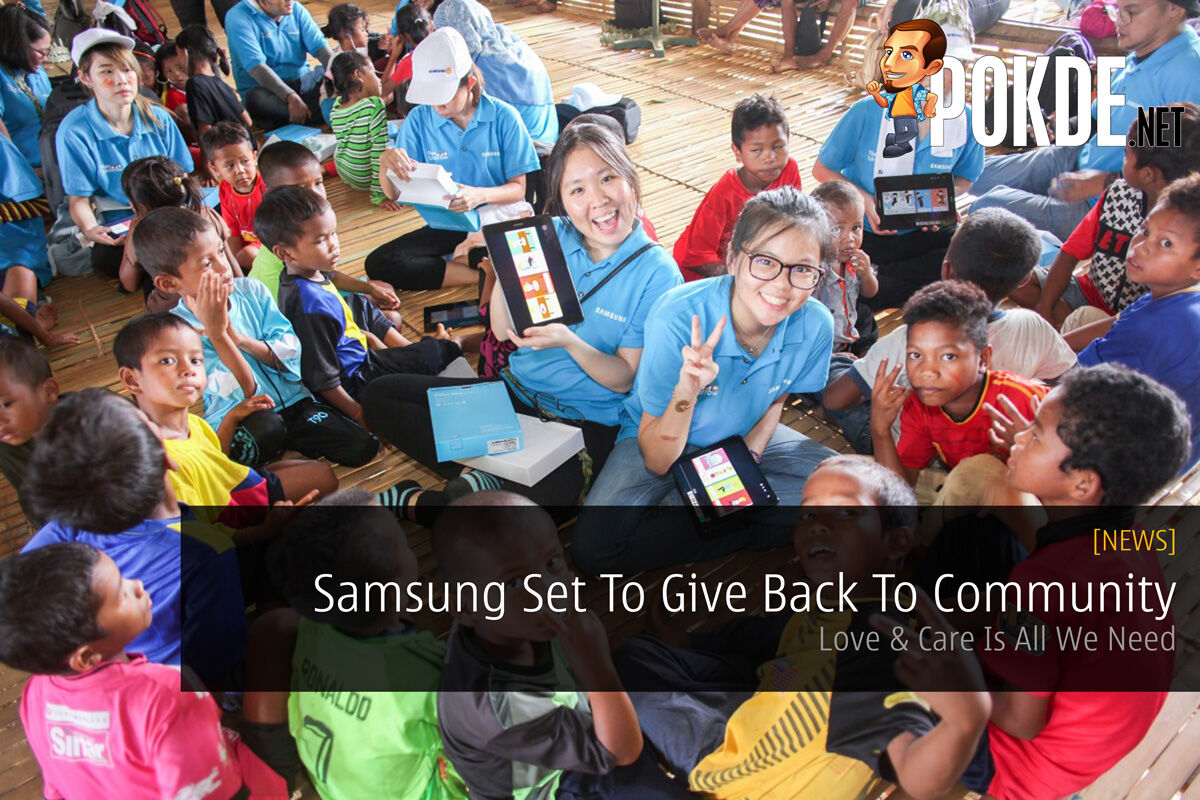 Samsung Set To Give Back To Community - Love & Care Is All We Need 26
