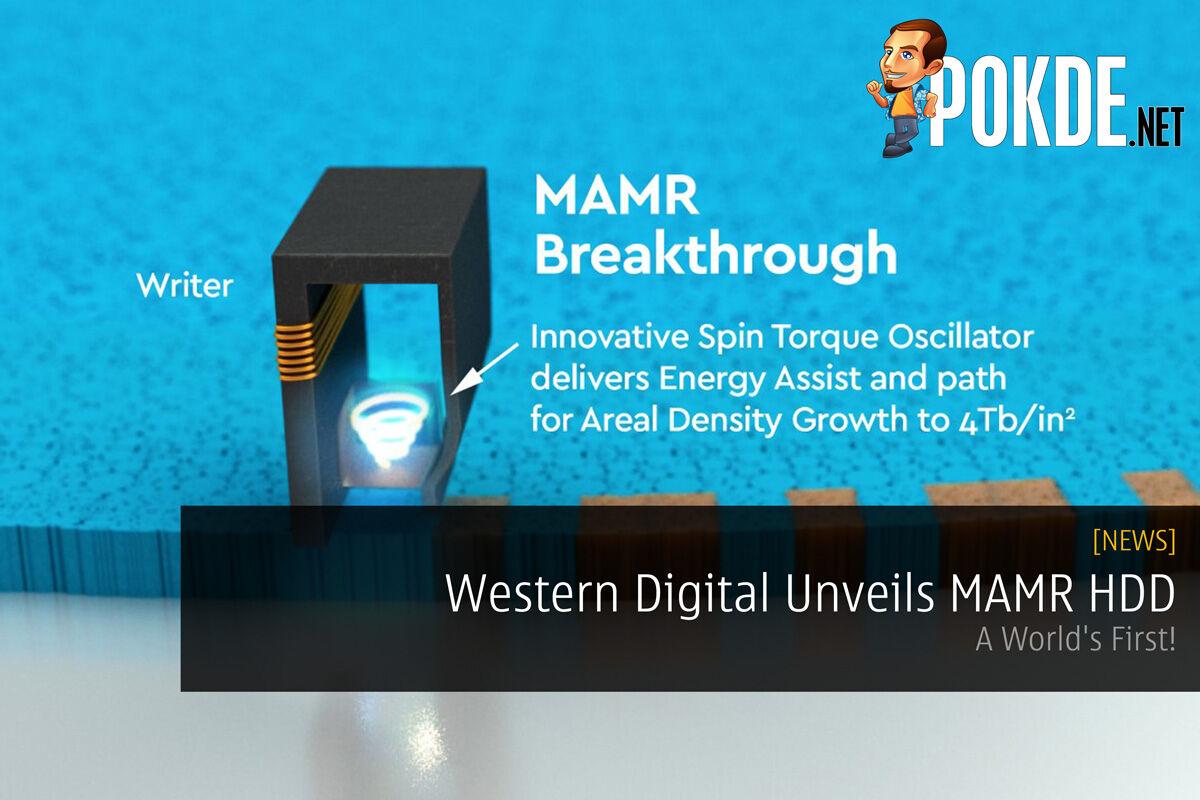 Western Digital Unveils MAMR HDD - A World's First! 49