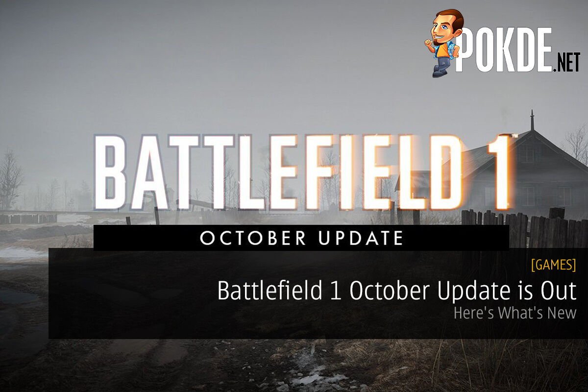 Battlefield 1 October Update is Out; Here's What's New 21
