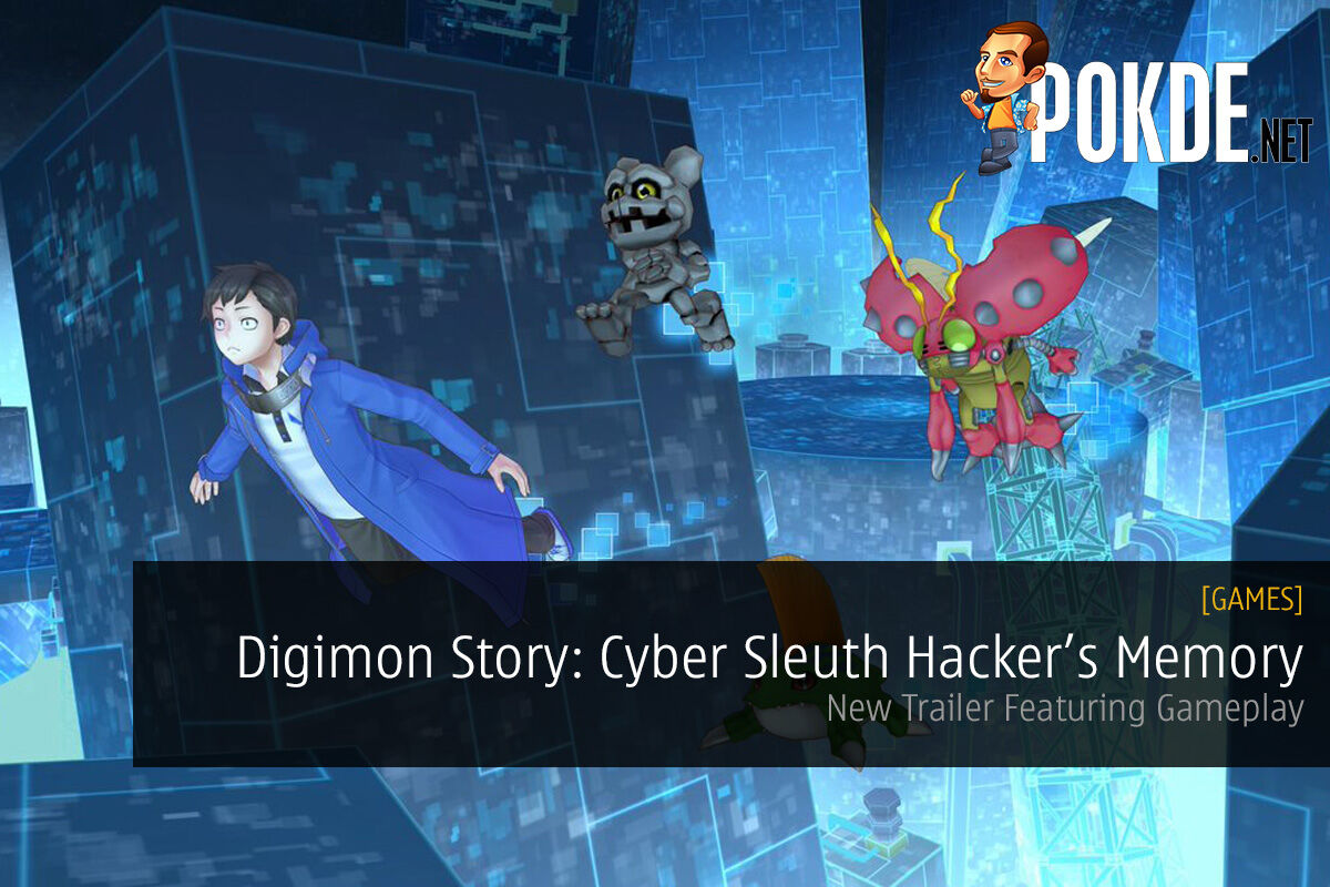 Digimon Story: Cyber Sleuth Hacker's Memory; New Trailer Featuring Gameplay 21