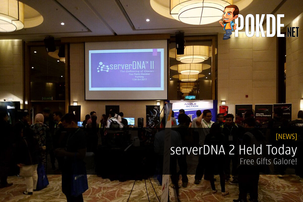 serverDNA 2 Held Today - Free Gifts Galore! 34