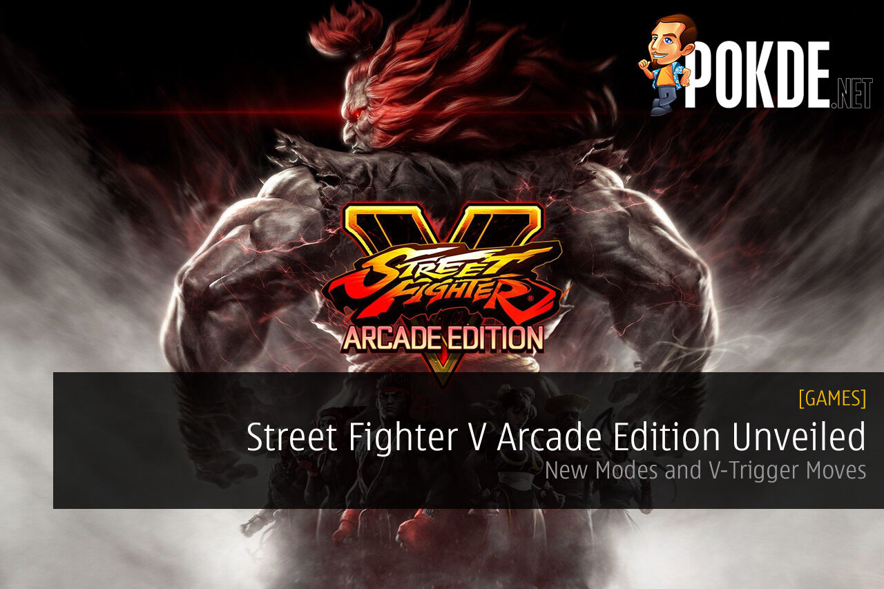Street Fighter V Arcade Edition Unveiled