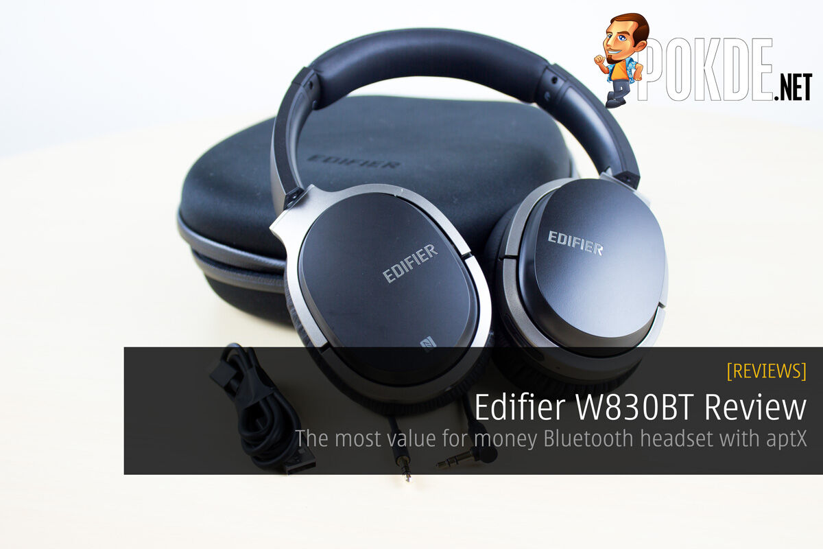 Edifier W830BT Review - The most value for money Bluetooth headset with aptX 42