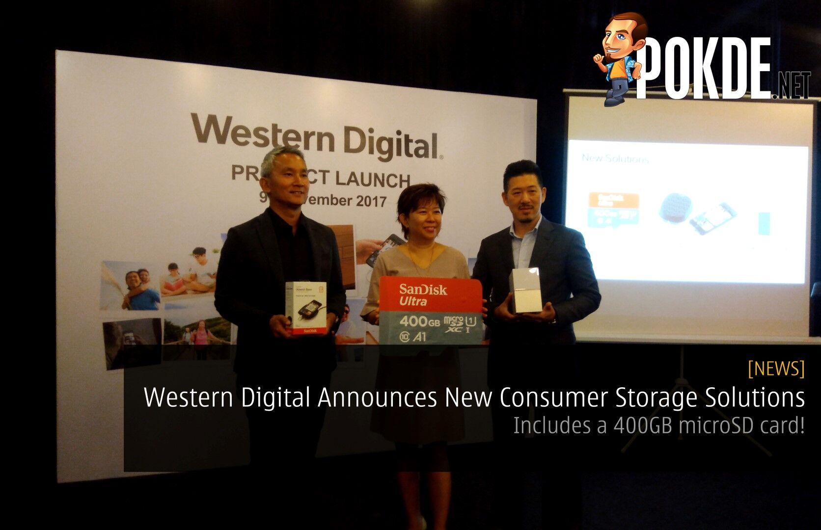Western Digital Announces New Consumer Storage Solutions - Includes a 400GB microSD card! 25