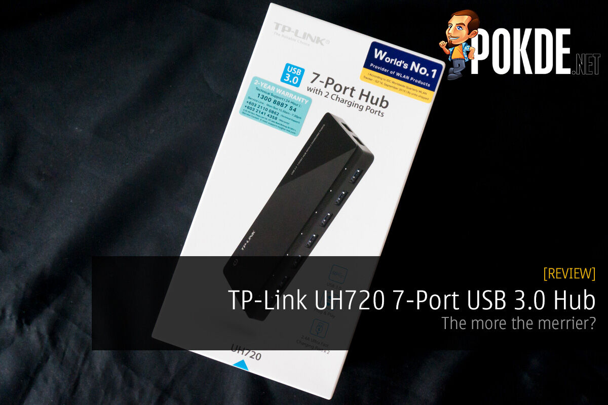 TP-Link UH720 7-Port USB 3.0 Hub review; the more the merrier? 24