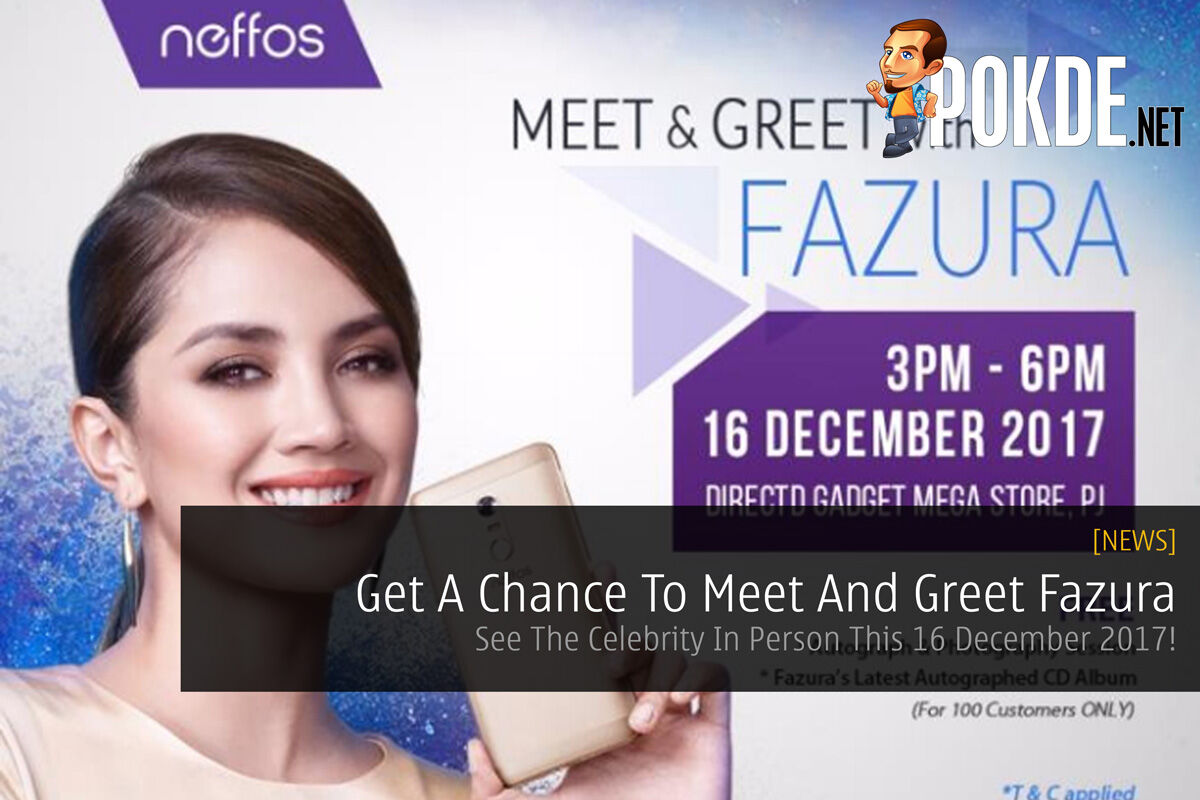 Get A Chance To Meet And Greet Fazura - See The Celebrity In Person This 16 December 2017! 21