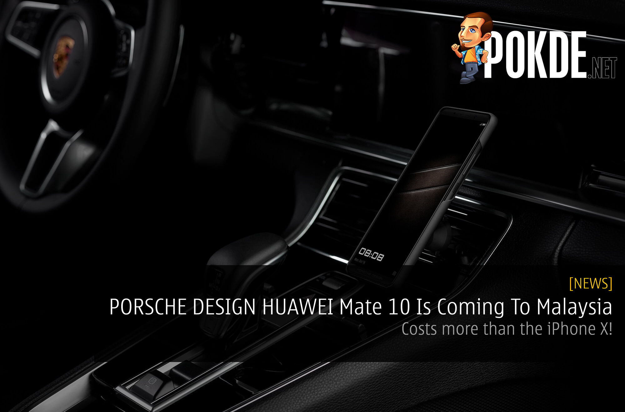 PORSCHE DESIGN HUAWEI Mate 10 Is Coming To Malaysia - Costs more than the iPhone X! 22