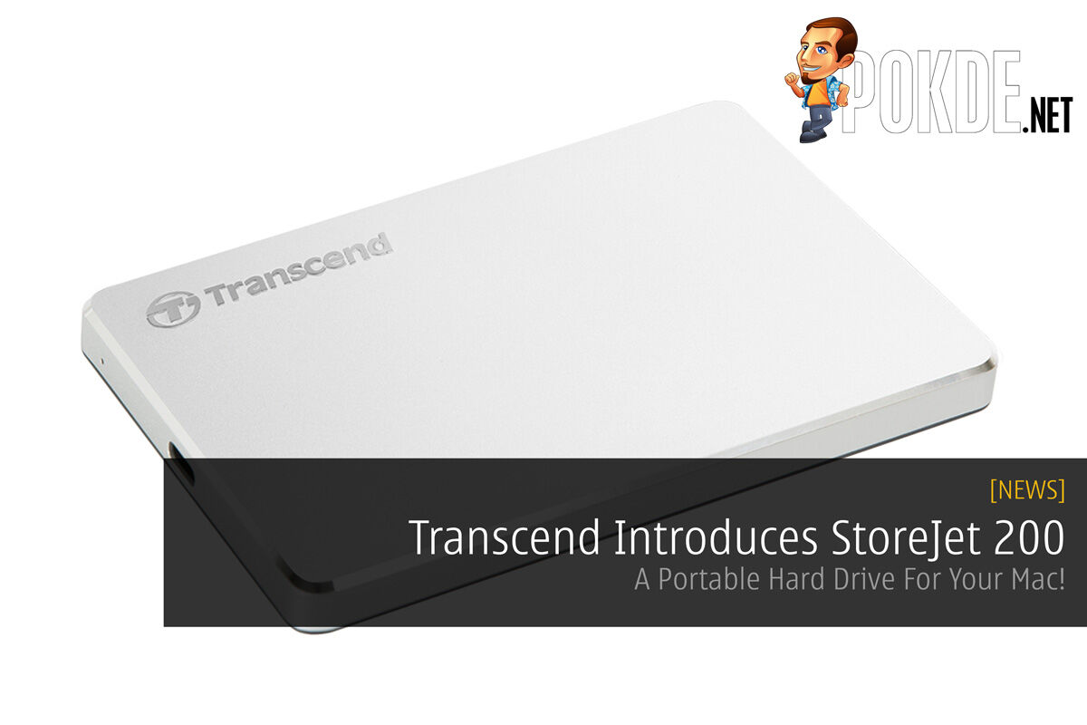 Transcend Introduces StoreJet 200 - A Portable Hard Drive For Your Mac! 26