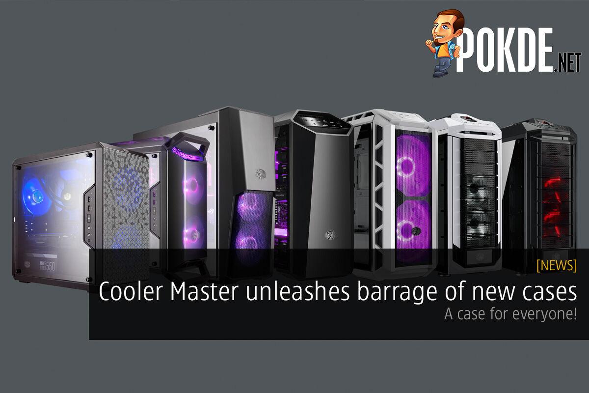 [CES2018] MasterWatt Maker and MasterWatt V announced; Cooler Master Connect v2.0 for monitoring from the cloud! 30