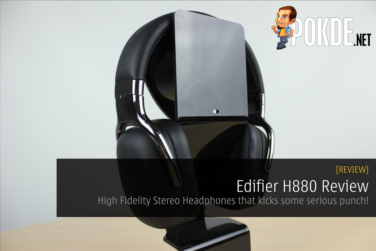 Edifier H880 Review; High Fidelity Stereo Headphones That Kicks Some Serious Punch! 24