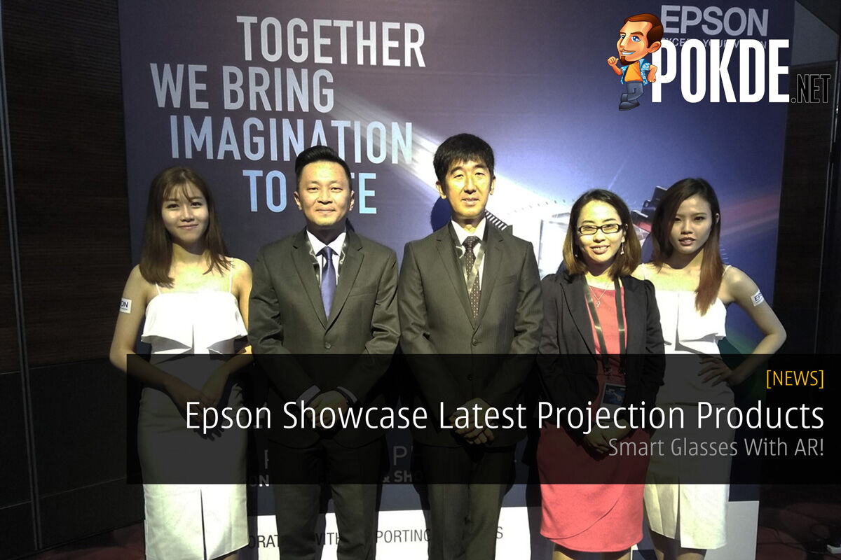 Epson Showcase Latest Projection Products - Smart Glasses With AR! 31