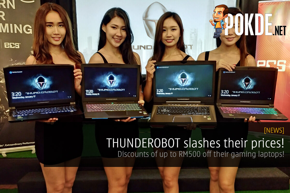 THUNDEROBOT slashes their prices on Lazada! Discounts of up to RM500 off gaming laptops! 22