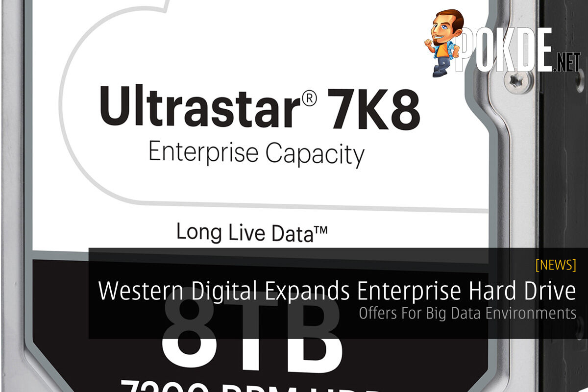 Western Digital Expands Enterprise Hard Drive - Offers For Big Data Environments 24