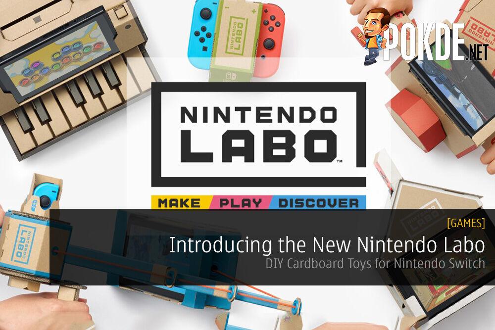DIY Cardboard Toys for Nintendo Switch