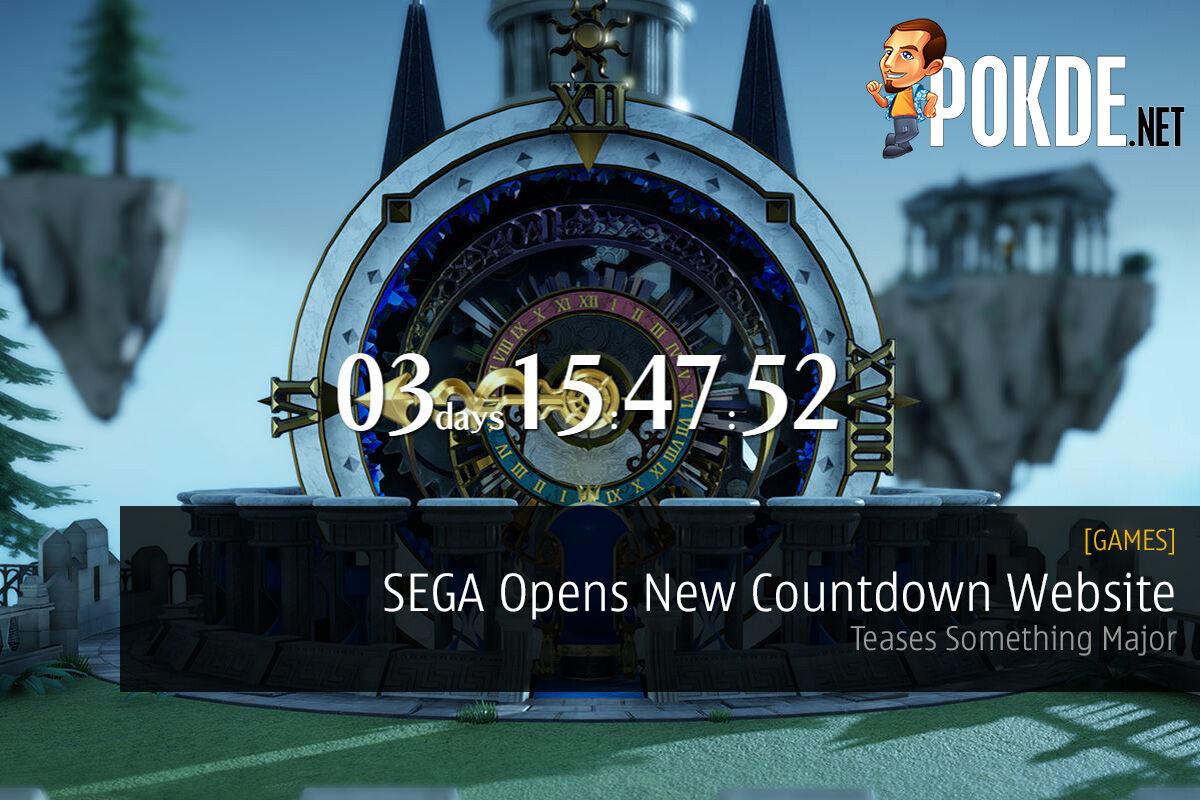 SEGA Opens New Countdown Website