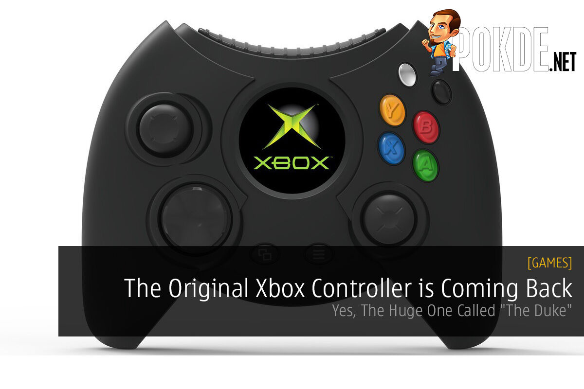 The Original Xbox Controller is Coming Back the duke