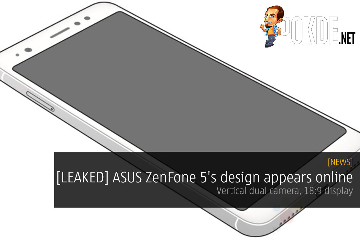 [LEAKED] ASUS ZenFone 5's design appears online; vertical dual camera, 18:9 display 25