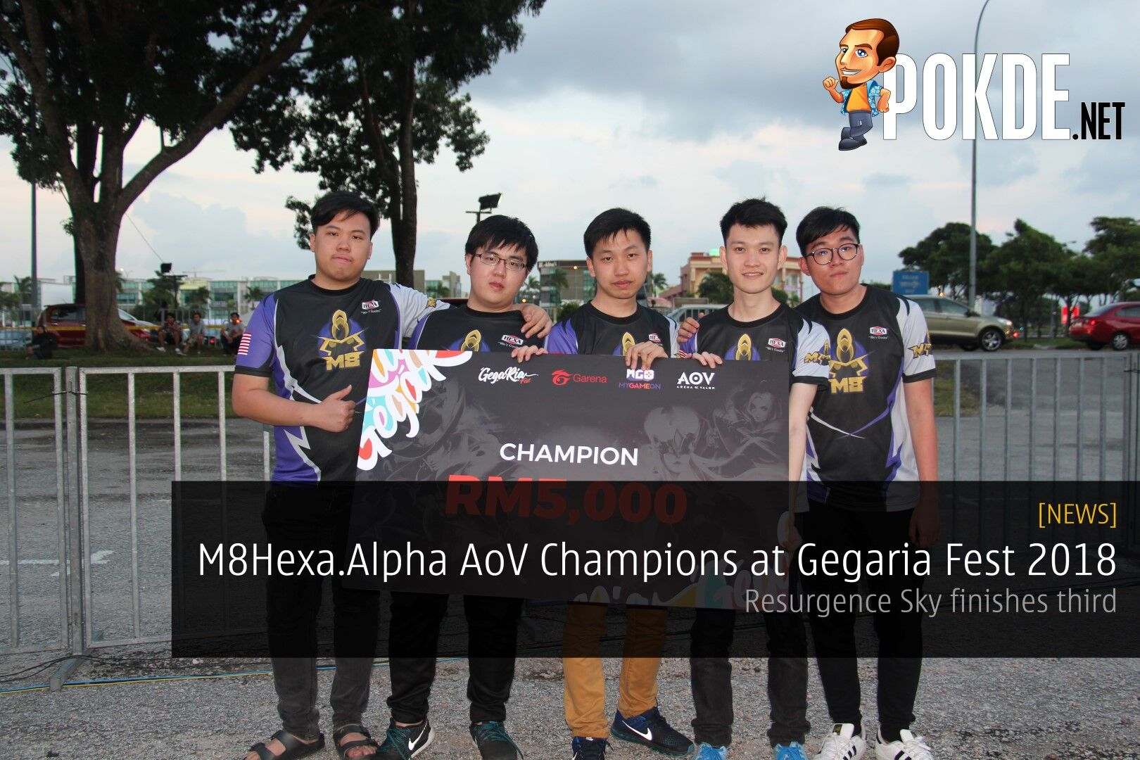 M8Hexa.Alpha AoV Champions at Gegaria Fest 2018 - AOV Valor Cup champions Resurgence Sky finishes third 23