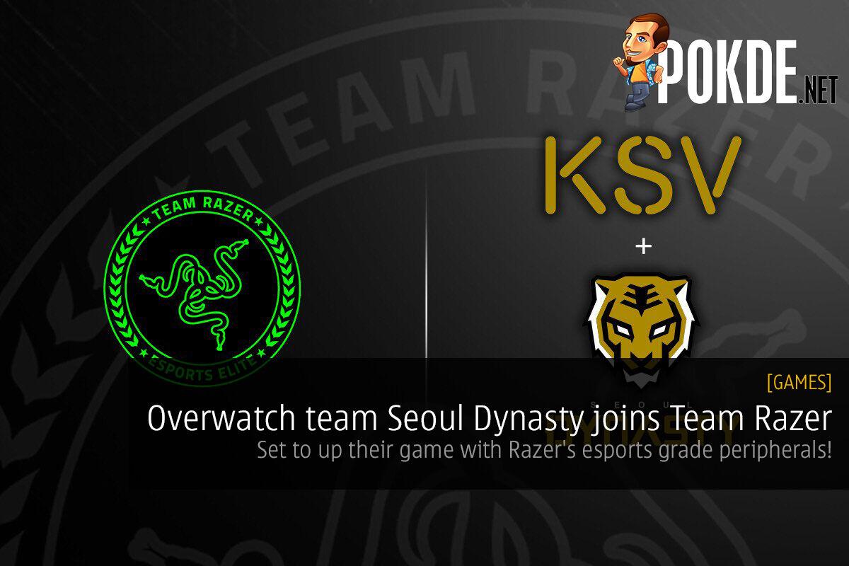 Overwatch team Seoul Dynasty joins Team Razer; set to up their game with Razer's esports grade peripherals! 23