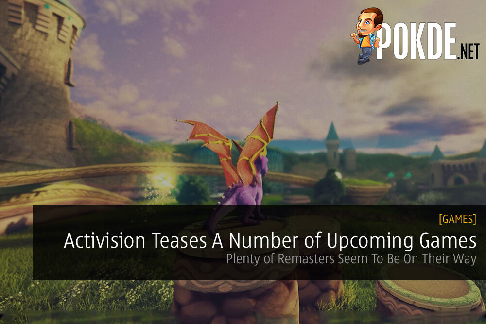 Activision Teases A Number of Upcoming Games / Remasters