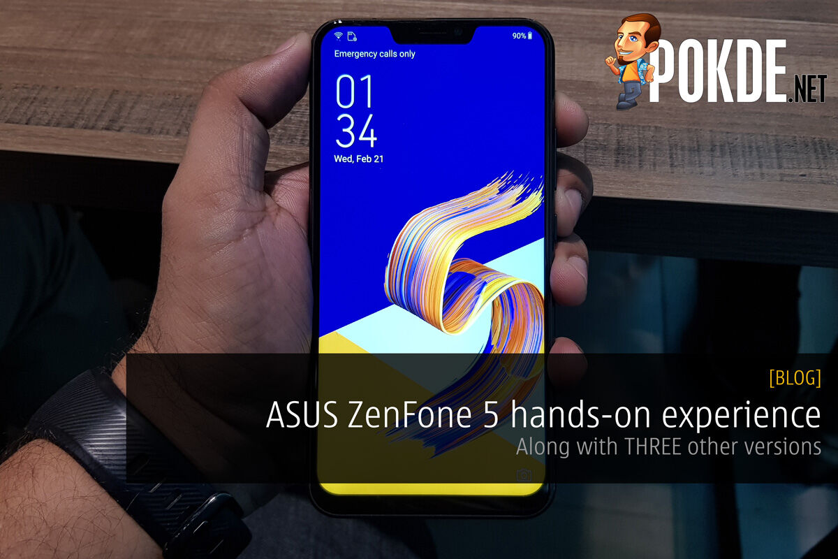 ASUS ZenFone 5 hands-on experience - Along with TWO other versions 24