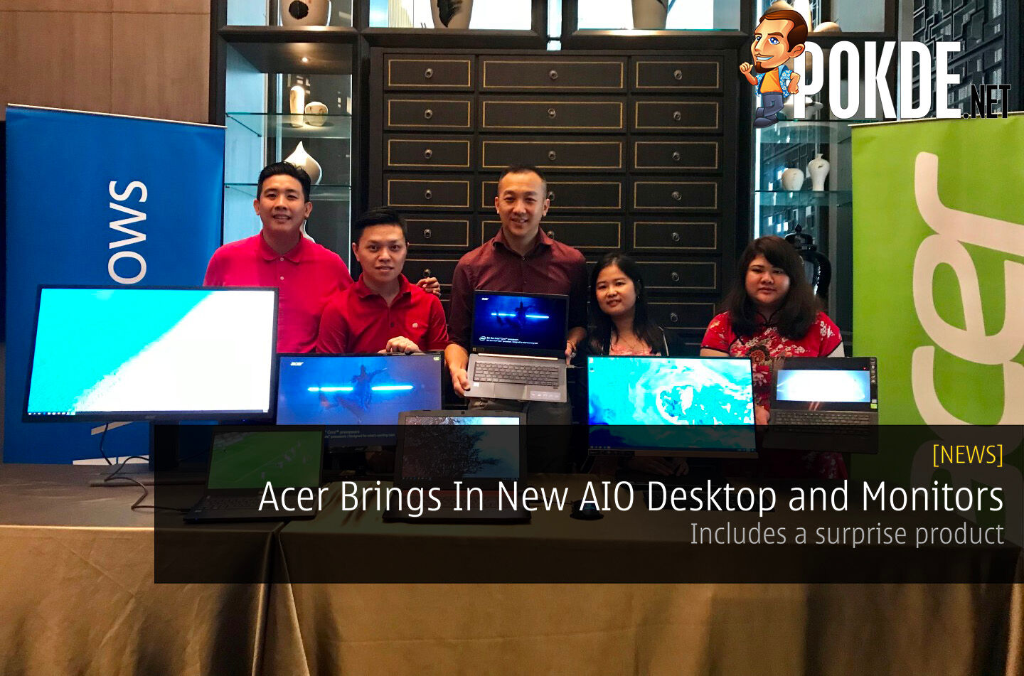 Acer Brings In New AIO Desktop and Monitors - Includes a surprise product 24