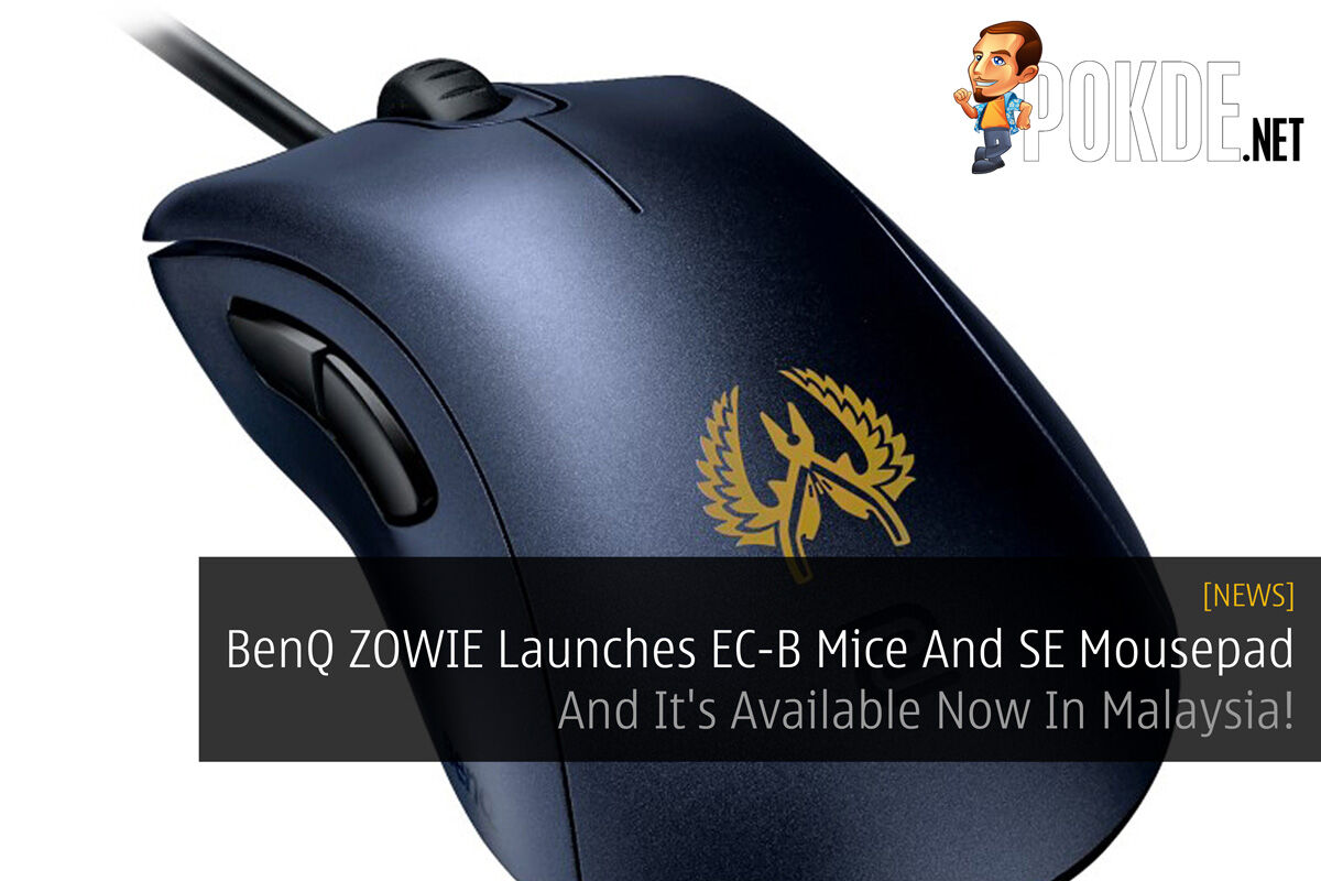 BenQ ZOWIE Launches EC-B Mice And SE Mousepad - And It's Available Now In Malaysia! 23