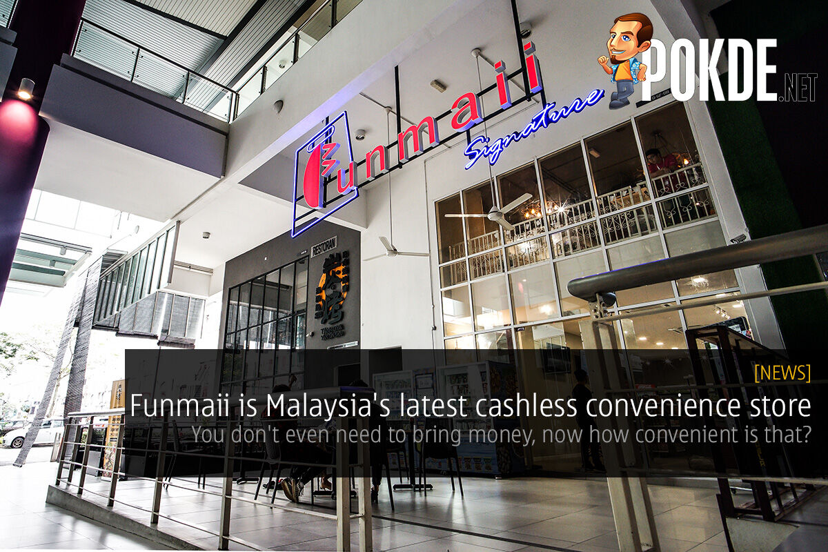 Funmaii is Malaysia's latest cashless convenience store — you don't even need to bring money, now how convenient is that? 26