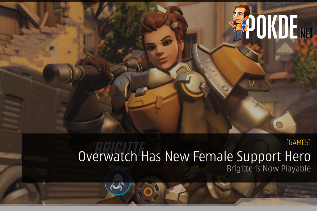 Overwatch Has New Female Support Hero: Brigitte