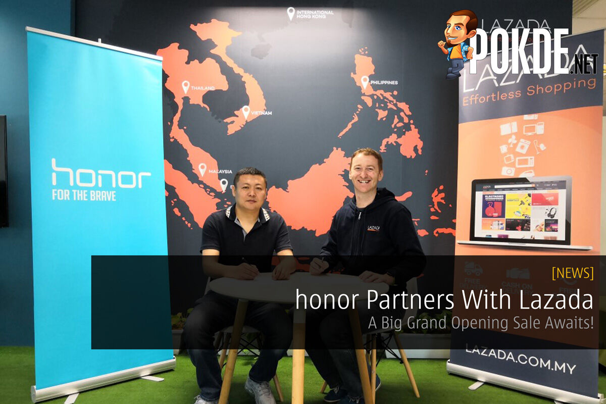 honor Partners With Lazada - A Big Grand Opening Sale Awaits! 23